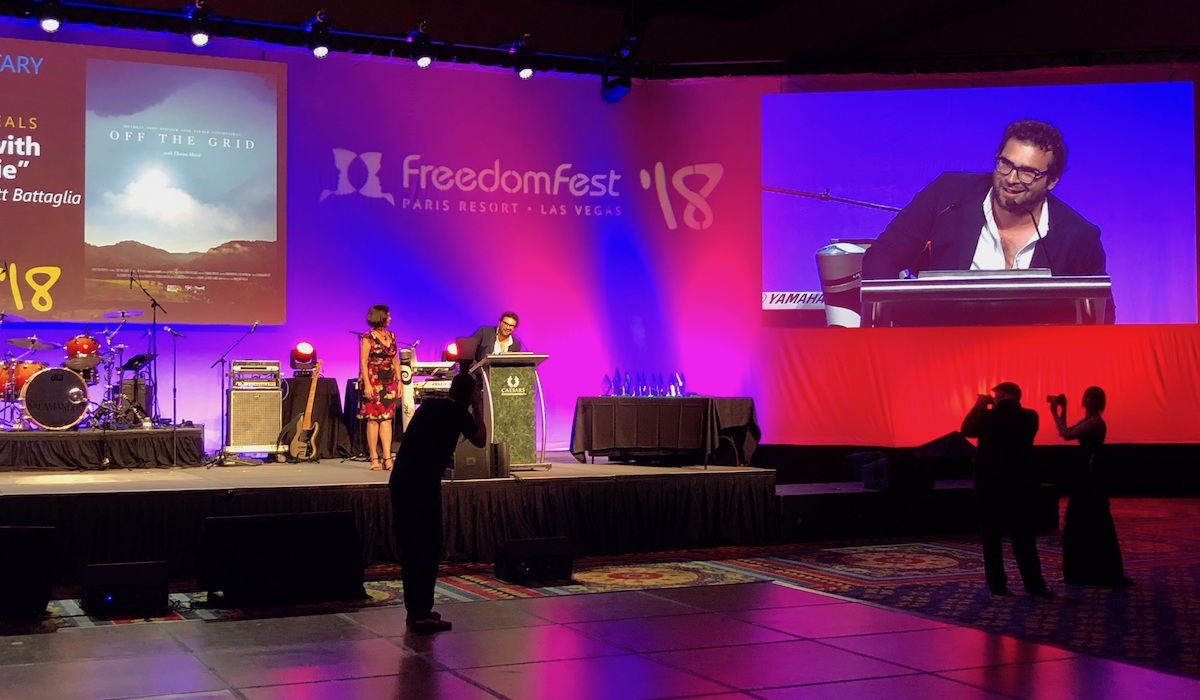Free the People's Award-Winning Performance at FreedomFest